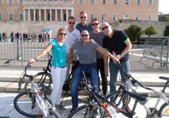 Photo Visite guidée privée d'Athénes en vélo classique ou électrique