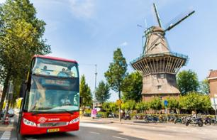 Hop-On Hop-Off Bus Tour of Amsterdam – Day pass