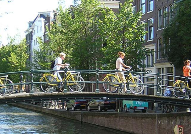 Photo Visite guidée d'Amsterdam à vélo