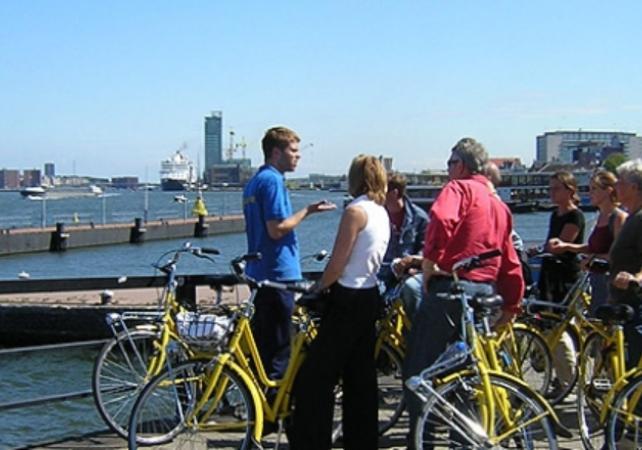 Photo Grand Tour guidé d'Amsterdam en vélo