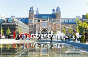 Priority-Access Ticket to the Rijksmuseum + 24-Hour Hop-On Hop-Off Bus Pass