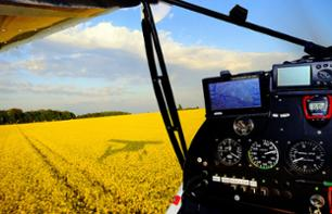 Introduction to Piloting an Ultralight Aircraft & Flight over the Châteaux of the Loire Valley