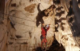Underground Via Ferrata - 55 mins from Grasse