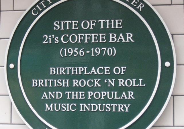 Photo Tour guidé de Londres en van sur le thème du rock'n'roll
