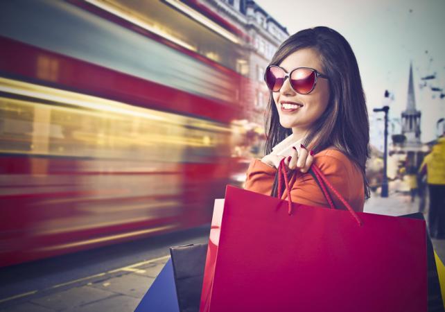 Shopping tour privé dans Oxford Street avec une styliste - Londres -