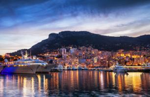 Monaco and Monte Carlo by night