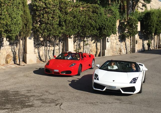 Ferrari/Lamborghini Driving Experience: 30 Minute Tour U2013 Pilot Or Co Pilot  U2013 Departing From Monaco