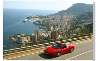Ferrari/Lamborghini Driving Experience: Private 30 Minute Tour – Pilot or co-pilot – Departing from Eze (30 mins. from Nice)
