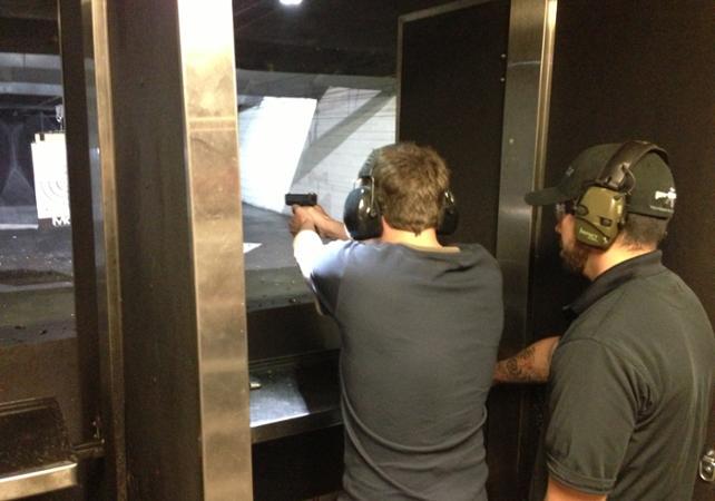 Las Vegas Gun Shooting : tir sur cible avec de véritables armes à feu - Las Vegas -