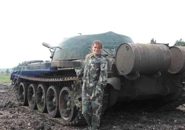 Photo Conduite d'un Tank T-55