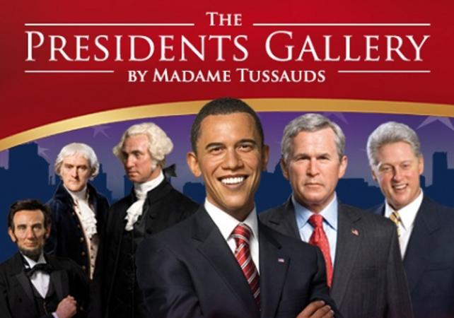 Billet coupe-file Madame Tussauds - Washington DC