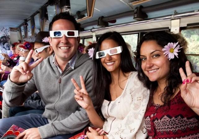 Visite de San Francisco en Bus Hippie -