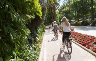 Guided Bike Tour around Malaga – Heights and Gibralfaro Castle