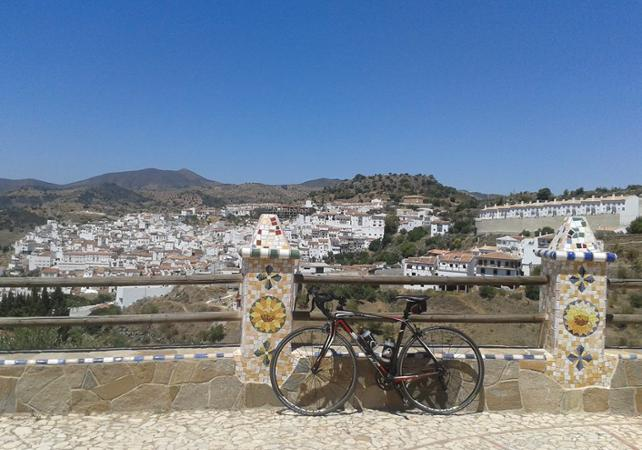 Photo Tour guidé à vélo autour de Malaga – collines et forteresse de Gibralfaro