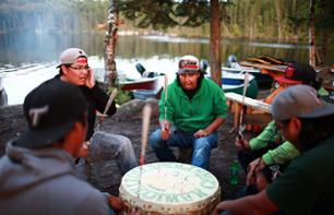3 Day/2 Night Stay in a Tipi and Immersion in Native American Atikamekw Community – Departing from Manawan