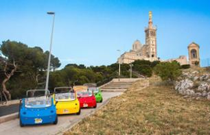 The Landmarks of Marseilles from a Convertible Mini – 1 hour