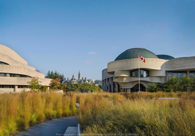 Photo Musée canadien de l'histoire (ancien Musée des Civilisations) - Gatineau / Ottawa