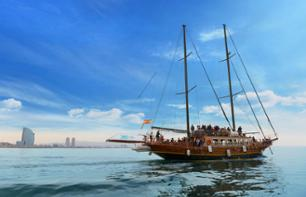 One hour sailboat cruise in Barcelona