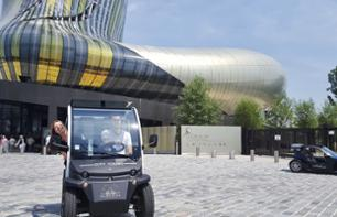 2 in 1 Offer: Discover Bordeaux's UNESCO World Heritage Sites by Electric Car and Skip-the-line Ticket to the Cité du Vin