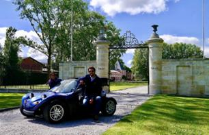 2 in 1 Offer: Half Day Trip to Margaux in a Convertible buggy and Skip-the-line ticket to Cité du Vin