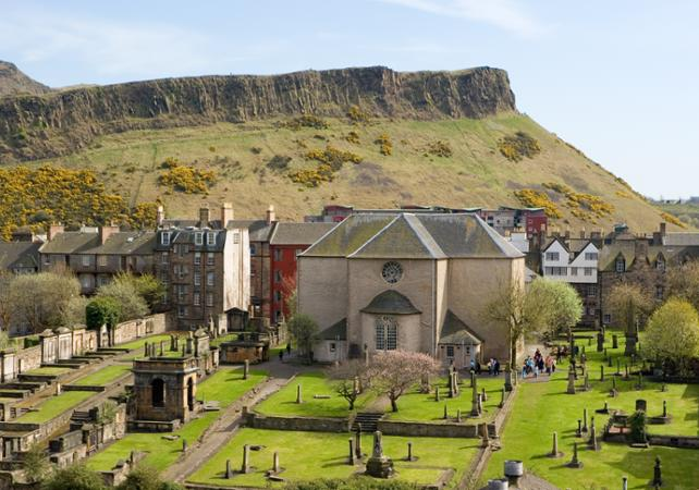 Photo Visite guidée des voûtes souterraines d'Edimbourg et du cimetière Canongate