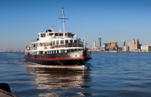 Cruise on the River Mersey and Bus Tour of Liverpool