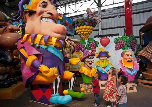Billet Mardi Gras World - Exposition des chars du Carnaval à la Nouvelle-Orléans - La Nouvelle-Orléans -