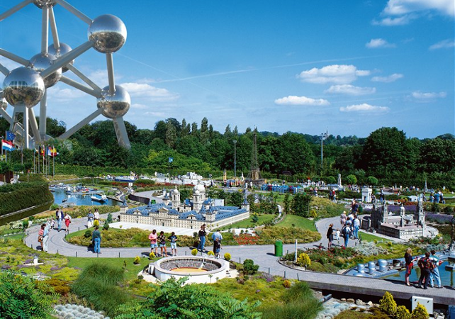 Billet combo Mini Europe + coupe-file Atomium - Bruxelles - Bruxelles -