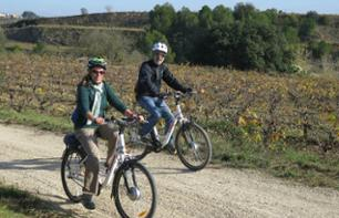 Bike Ride in Vineyards and Lunch of Local Grilled Specialties - 1 hour from Barcelona