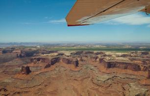 Survol de Monument Valley  en avion touristique (2h) - Moab