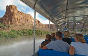 Tour en jet boat sur le Colorado dans le parc national de Canyonlands - Moab