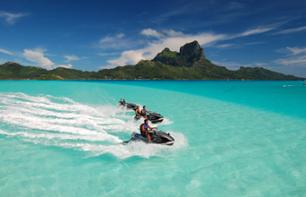 Jet Ski tour at Bora Bora