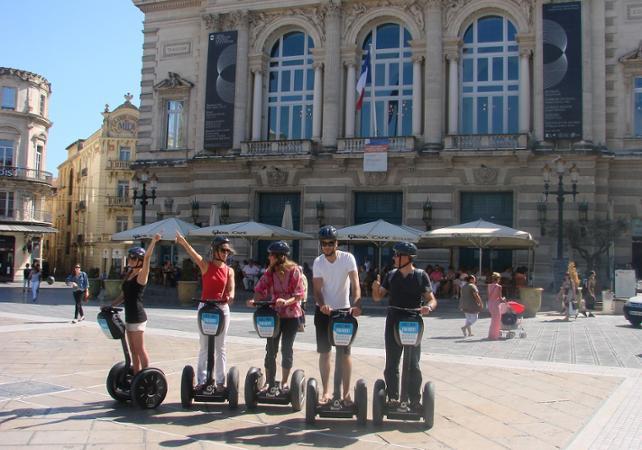 Découverte de Montpellier en segway – 1h