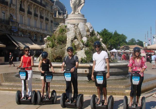 Grand tour de Montpellier en segway – 2h - Montpellier -