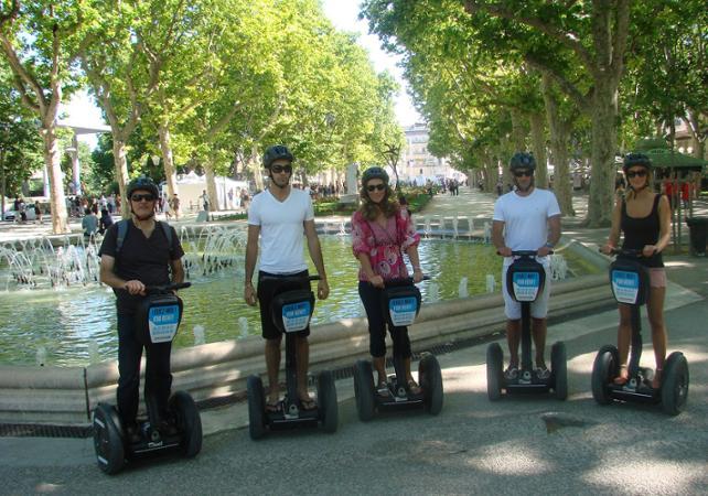 Chasse au trésor dans Montpellier en segway – 2h - Montpellier -