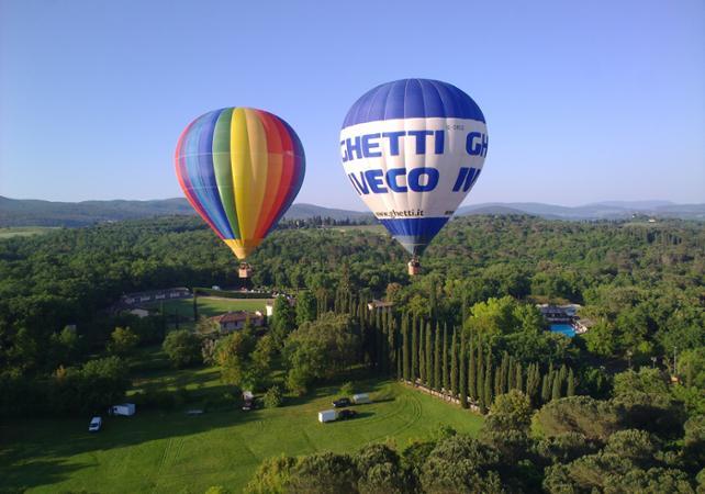 montgolfiere toscane