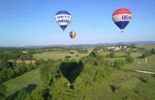 Fly Over the Latium Region Close to Rome in a Hot Air Balloon