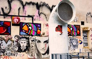 Discover Le Marais Street Art with a Polaroid Camera (in English)