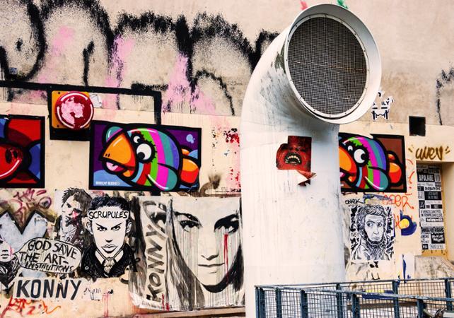 Découverte du street art dans le Marais avec polaroïd - Visite privée - new-paris -