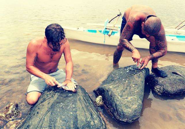 Photo Immersion dans la vie d'un polynésien de Moorea : pêche, plongée, cuisine et découverte