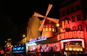 Moulin Rouge Paris: Kabarett Show um 23:00 Uhr