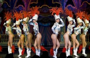 Moulin Rouge Paris: Kabarett-Show um 21:00 Uhr
