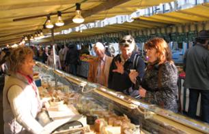 Visit to a Parisian Market and French Cooking Class