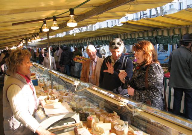 Visite d'un marché parisien et cours de cuisine française - new-paris -
