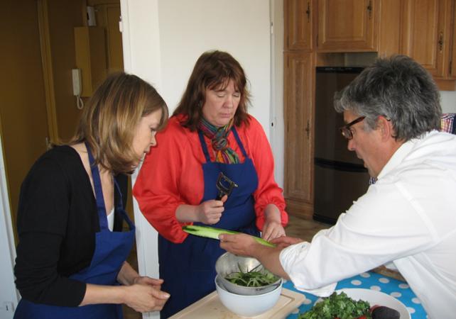 D couverte de la cuisine fran aise cours de cuisine for Recherche chef de cuisine paris