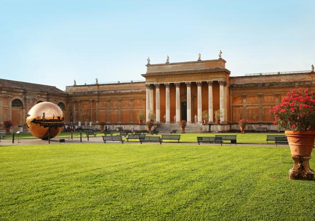 Los museos del vaticano tour en autob s de techo abierto for Jardines vaticanos