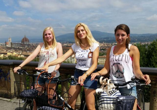 Photo Tour guidé de Florence à vélo