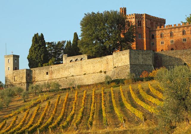 Excursion dans la région du Chianti et visite du château de Monteriggioni - Départ/retour hôtel - Florence -