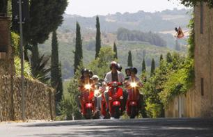 Guided Tour of the Tuscany Region by Vespa – Leaving from Florence