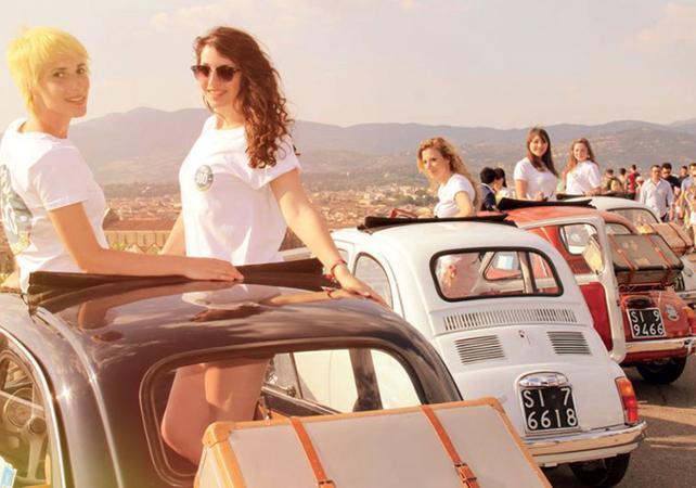 Tour guidé de Florence en Fiat 500 - Florence -